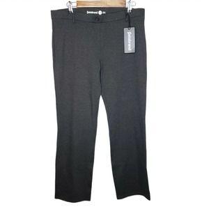 Betabrand Dress Pant Yoga Pants XLP Charcoal Gray